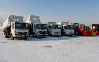 札幌市内の除雪業務