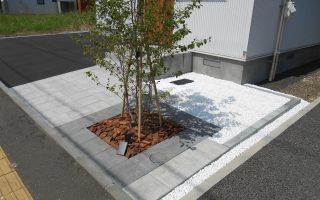 札幌市東区 新築住宅の外構工事