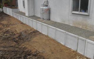 札幌市東区 Ⅼ型ブロック土止めの改修工事