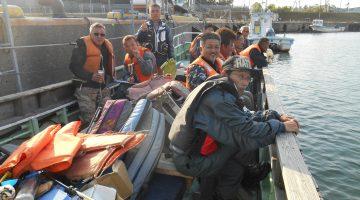 釣り焼肉大会(毎年恒例)