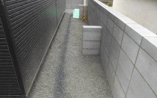 札幌市北区 新規ブロック塀工事