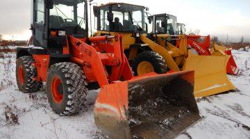 令和元年、除排雪作業の準備をすすめております。