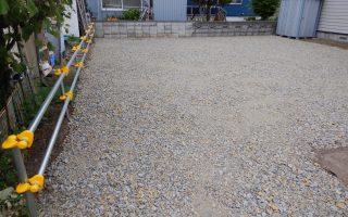 札幌市北区 整地工事