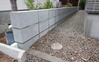 札幌市北区 ブロック塀工事