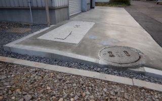 札幌市北区 コンクリート舗装工事